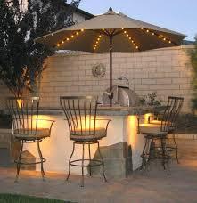 amazg spirations patio umbrella with solar lights 11 ft offset led