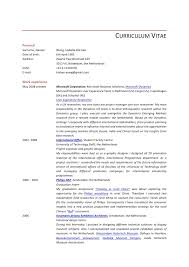 Resume User Researcher. CURRICULUM VITAE Personal Surname, ...
