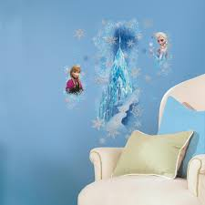 trendy inspiration ideas frozen wall decor home disney giant ice palace castle decals eon decorating kit