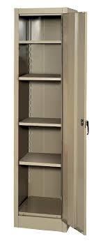 Amazon.com: Edsal 6602TN Tan Steel Storage Cabinet, 4 Adjustable ...