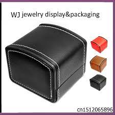 popular mens watch storage buy cheap mens watch storage lots from luxury pu leather mens watch storage box wrist watch display holder case organizer bangle bracelet jewelry