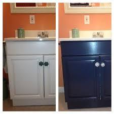 painting a laminate bathroom vanity