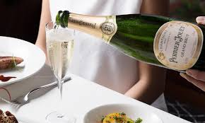 perrier jouet luxury chagne dinner at oyster wine bar