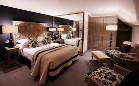 romantic bed room. Appealing Design Of The Romantic Bedroom Ideas With Black Wall Added White Ceiling And Bed Room