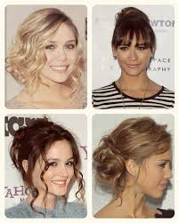 fashion and trend celebrity up do hairstyle with hair extensions