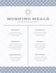menu planner worksheet menu planner templates by canva