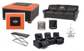 Harley Davidson Furniture for your Man Cave