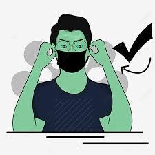 Respirator masker bedah goggles alat pelindung diri kedokteran gigi, masker, pin, laboratorium. Gambar Cara Memakai Masker Yang Benar Mencegah Virus Covid 19 Covid 19 Sel Mecro Png Transparan Clipart Dan File Psd Untuk Unduh Gratis