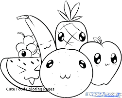 Printable Food Coloring Pages Math Worksheets Multiplication