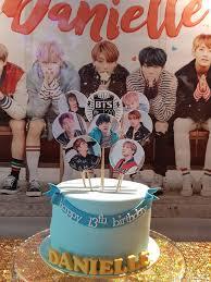 <b>BANGTAN BOYS BTS</b> Edible image personalized DIY CAKE KIT ...