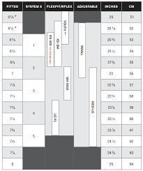 Flexfit Cap Size Chart 59 Correct Boonie Hat Size Chart