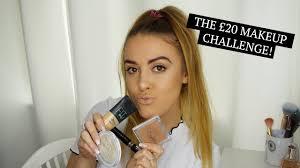 20 makeup challenge lauren faye