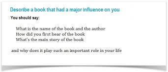 ielts cue card sample describe a book that had a major describe a book
