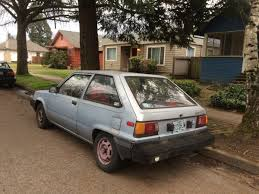 Curbside Capsule: 1986 Toyota Tercel – Eugene-Mobile of Yesteryear