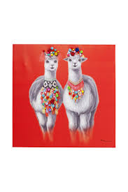 <b>Картина</b> Lama Couple 90х90 см <b>KARE</b> арт 60771/W20072921529 ...