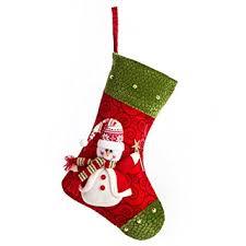 amazon com ipegtop 15 felt christmas stocking craft holiday