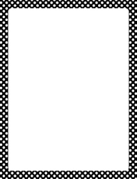 Border Black And White Black Page Borders