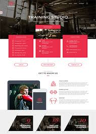 gym website design 45 mindblowing fitness gym website templates