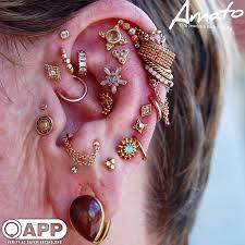 All Ear Piercings Chart A Lil Update To Mariannes Ear All Piercings By Joe At