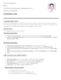 Best It Resume Format Classy Resume Format Teachers Free Resume Samples For Teachers Resume