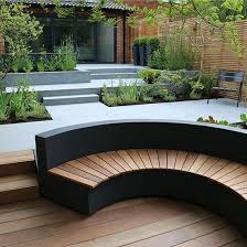 curved garden bench. Image Result For Curved Outdoor Bench Garden Seating