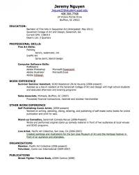 how to create a resume for a highschool student samples of resumes 2017  resume templates word
