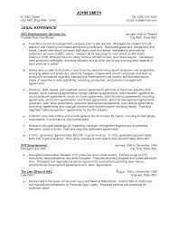 Best Solutions Of Resume Sample General Counsel Templates About
