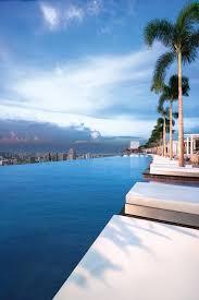 infinity pool singapore hotel. Infinity Pool At Marina Bay Sands Hotel, Singapore Hotel L
