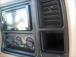 2002 Chevy Tahoe Double Din install - YouTube