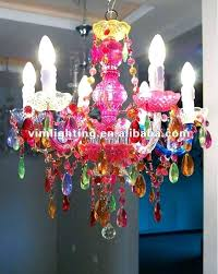 multi colored crystal chandelier multi colored crystal chandelier color decorative 6 colorful lighting on