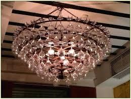 diy wine glass chandelier pianotastings com