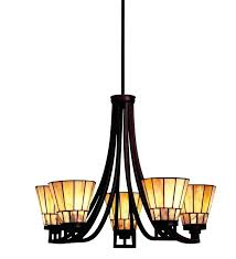 arts crafts style chandelier dining room craftsman foyer lighting