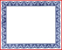 diploma border template certificate border template 71860 blue psd blank certificates with