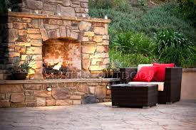custom outdoor fireplaces landscaping custom outdoor fireplaces are