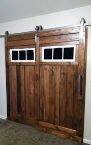 interior barn door hardware. This Single Track Bypass System-includes 2 Hanger Sets (4 Hangers Total). Suitable For Applications With Two Doors On One Track! LOWEST PRICE ON Interior Barn Door Hardware