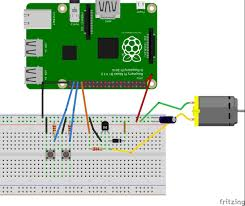 dc motor speed control raspberry pi circuit explanation dc motor control raspberry pi fritzing diagram