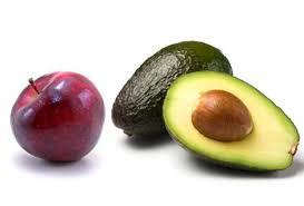 apple food. apple-avocado apple food