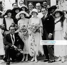 Marilyn Miller s wedding to Jack Pickford (Mary Pickford s brother) Guests  included Douglas Fairban
