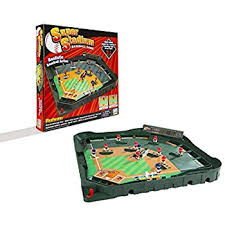 Wooden Baseball Game Toy Amazon Game Zone Super Stadium Baseball Game with Realistic 12