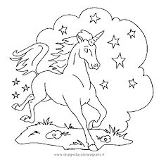 Disegno Unicorno43 Categoria Fantasia Da Colorare