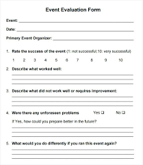 Release Plan Template Awesome Feedback Form Sample Ate R Event Evaluation And On Induction Plan
