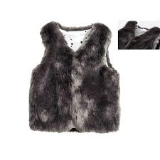 luxury winter kid clothes for girl children synthetic leather warm coat toddler girl fur vest sleeveless jacket for children baby shirt and waistcoat boys