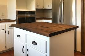 how we stained our dark butcher block countertops 2018 how to make concrete countertops