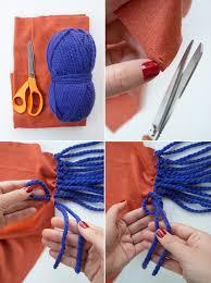 diy scarf fashion no sew fringe fringed winter clothes how to make fabric 624x837 jpg