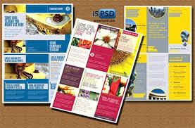 Template Brosur Template Brosur Psd Download Makanan Brochure 2 Bhimail Co