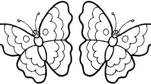 Free Coloring Pages Butterfly For Preschool Printable Butterflies