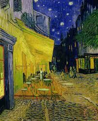 vincent van gogh painting cafe terrace arles vincent van gogh art print