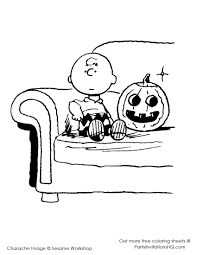 Charlie Brown Thanksgiving Coloring Pages - GetColoringPages.com