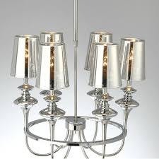 modern plating glass shades chandelier 10246