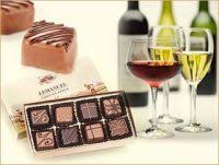 we start with a tasting of a variety of milk and dark chocolates then move into tasting a variety of wines and experiment how the wine and chocolate